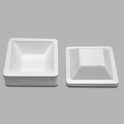 "Square Bowl   7 1/2"" x 7 1/2"" x 2"" Mold"