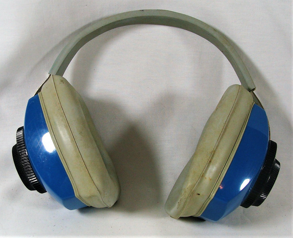 VTG Ground Ear Protection Muffs Noise Canceling Headset United Airlines Airplane