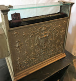 Antique Brass or Nickel National Cash Register #349 1906 Working 2 Rows Keys VG