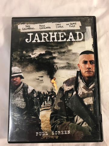 Jarhead DVD 2006 R Full Screen Jake Gyllenhaal Jamie Foxx - Cabin Fever Purveyors