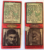 1930s Diamond Match Cover Book U PICK FootBall Players Bears Eagles NY Giants - Cabin Fever Purveyors