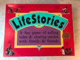 Life Stories Family Board Game 1992 Telling Tales Parents Choice Award Complete