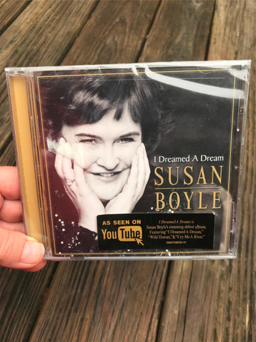 Susan Boyle I Dreamed A Dream Debut CD Sealed Wild Horses NEW