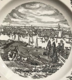Wedgwood Etruria and Barlaston Baltimore from Federal Hill Plate England Hutzler