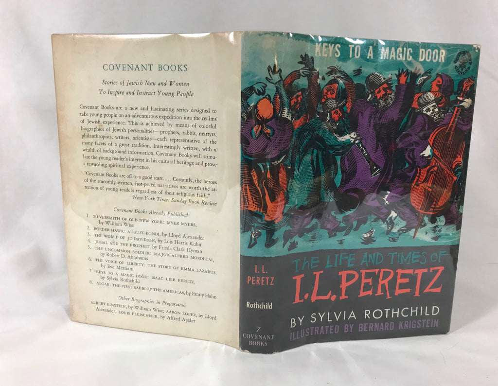 The Life and Times of I.L. Peretz by Sylvia Rothchild HB DJ 1959 1st