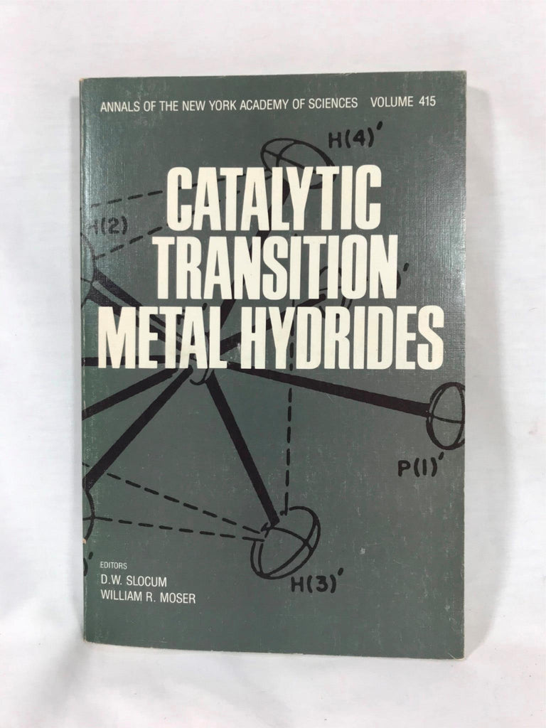 Catalytic Transition Metal Hydrides Paperback Slocum Academy of Sciences 1983
