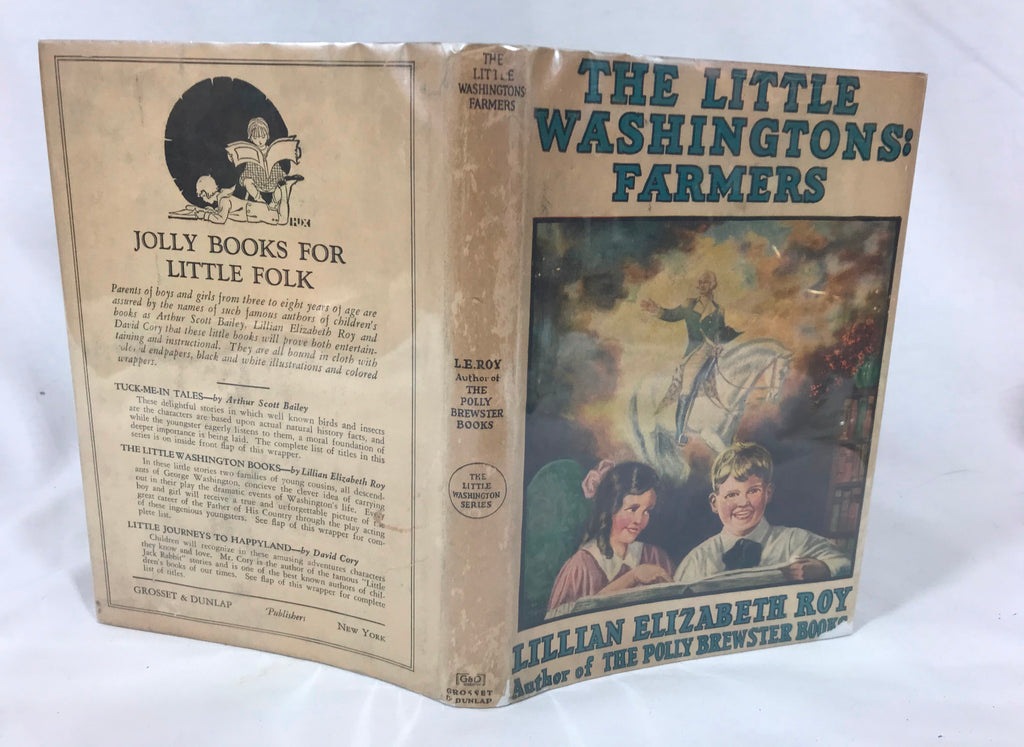Vintage The Little Washingtons: Farmers by Lillian Elizabeth Roy 1926 HB DJ