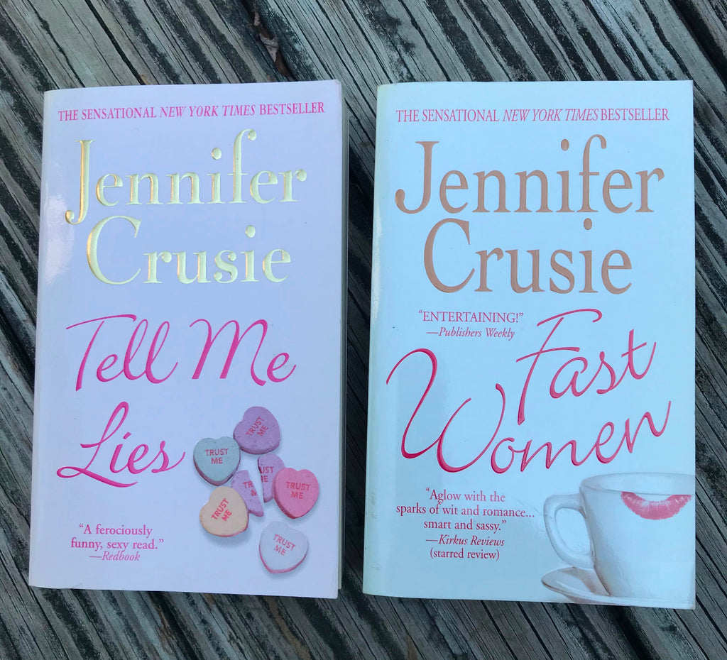 Jennifer Crusie Paperbacks 2 Tell Me Lies Fast Women Very Good Condition