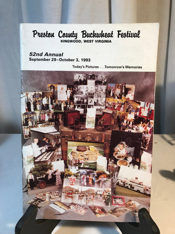 Vintage Preston County Buckwheat Festival WV Program Booklet Photos Sept 1993
