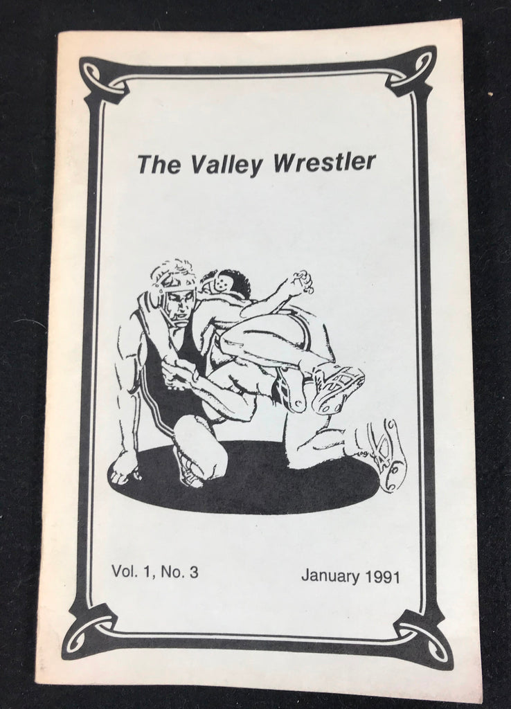 1991 The Valley Wrestler High School Wrestling Harrisonburg VA District