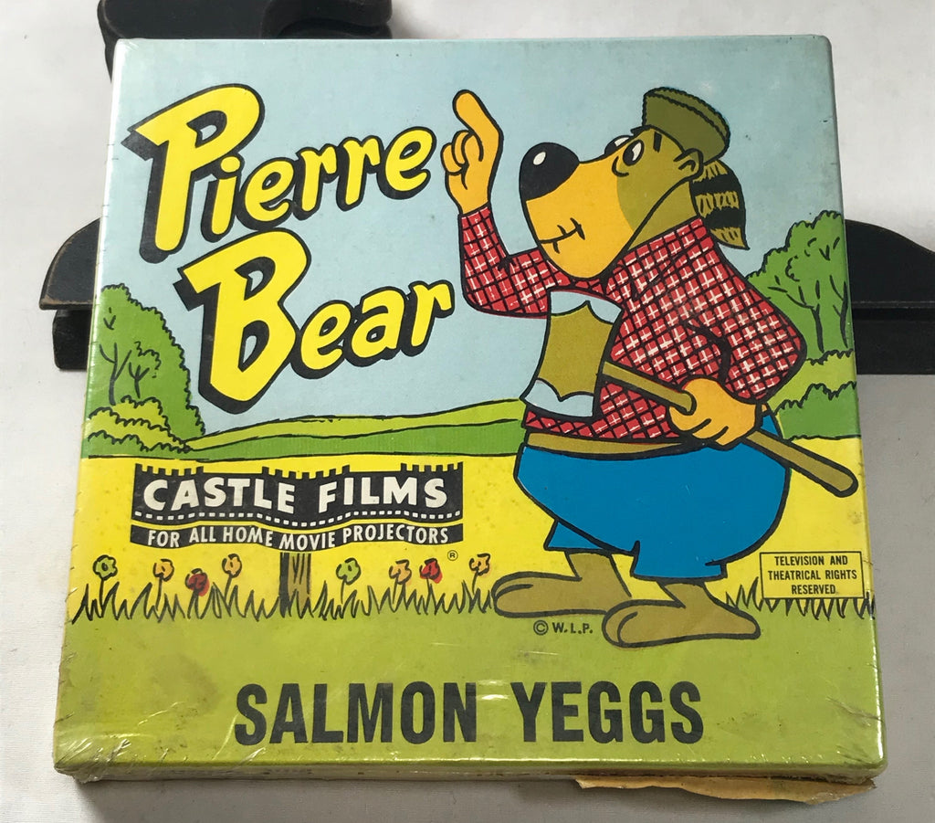 Sealed 8mm Pierre Bear in Salmon Yeggs Castle Films No 768 Home Movie Color MIB - Cabin Fever Purveyors