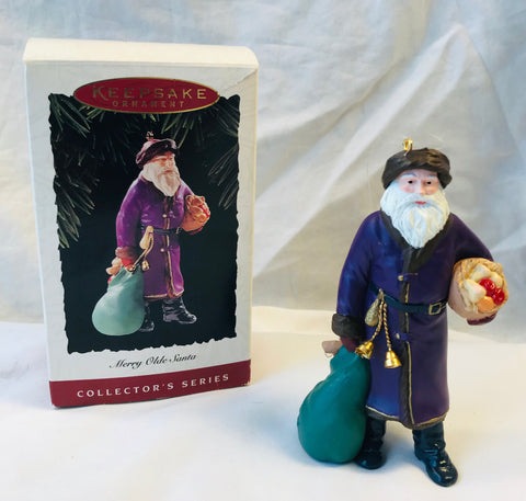 Hallmark Merry Olde Santa Series # 6 Sixth 1995 Ornament - Cabin Fever Purveyors