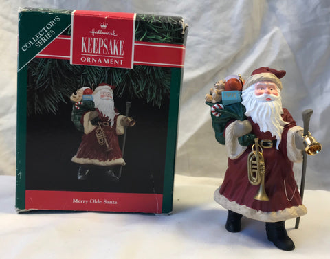 Hallmark Merry Olde Santa Series # 2 Second 1991 Ornament - Cabin Fever Purveyors