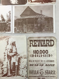 10 Western / Native American Post Cards Photo Reproduction - Cabin Fever Purveyors