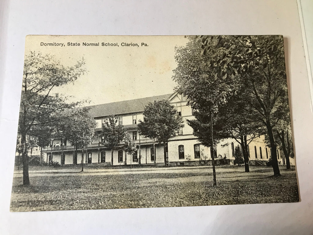 Clarion PA Dormitory State Normal School Posted 1910 - Cabin Fever Purveyors