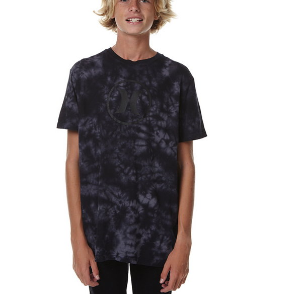 Hurley - Block Party Lightning Wash Tee Boys