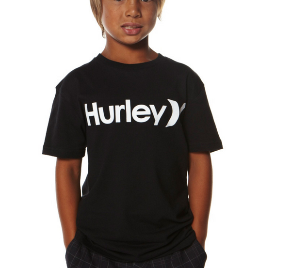 Hurley - Core Black Tee Boys