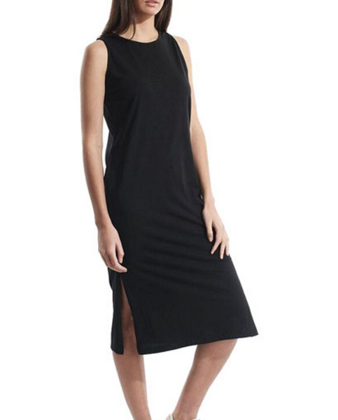 Silent Theory - Direction Midi Dress Black
