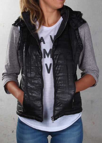 All About Eve - Stealth Puffa Vest
