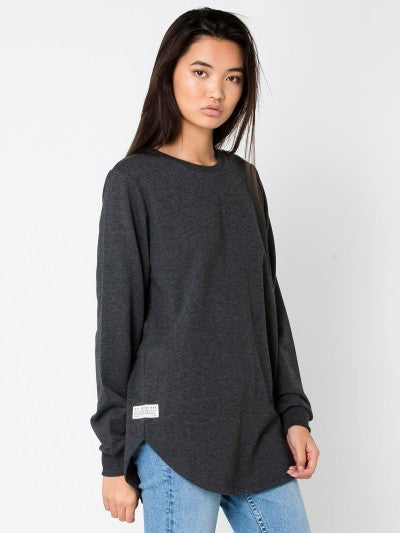 All About Eve - Jumper Longline Black