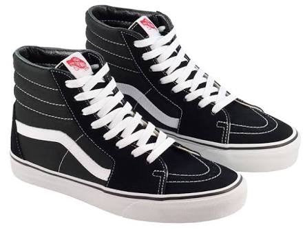 Vans - Old Skool - Sk8 Hi Black/White