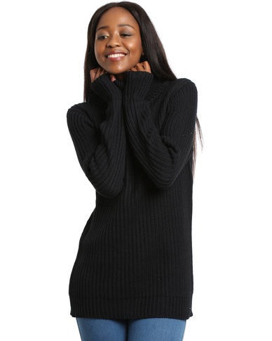 All About Eve - Holidays Knit Jumper Black