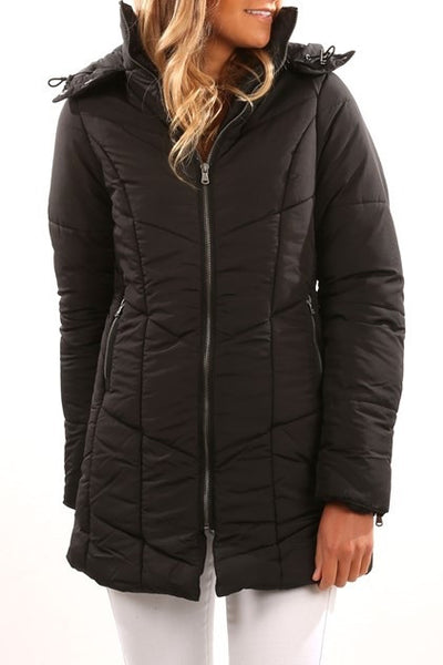 All About Eve - Jacket Walker Puffer Black