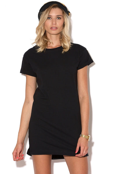 Silent Theory - Exes Tee Dress Black