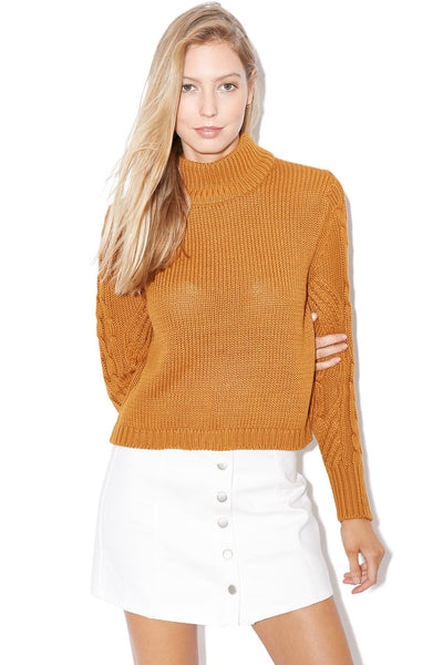 All About Eve - Forever Knit Jumper Warm Caramel