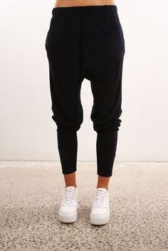Silent Theory - Fluid Pant Black