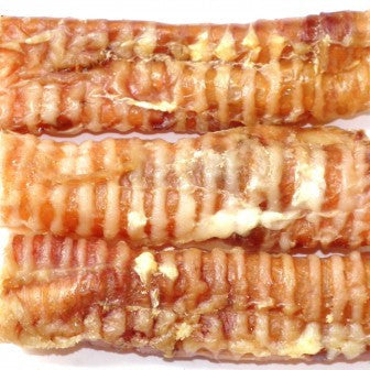 Bullwrinkles Whole Trachea dog treats made with beef trachea