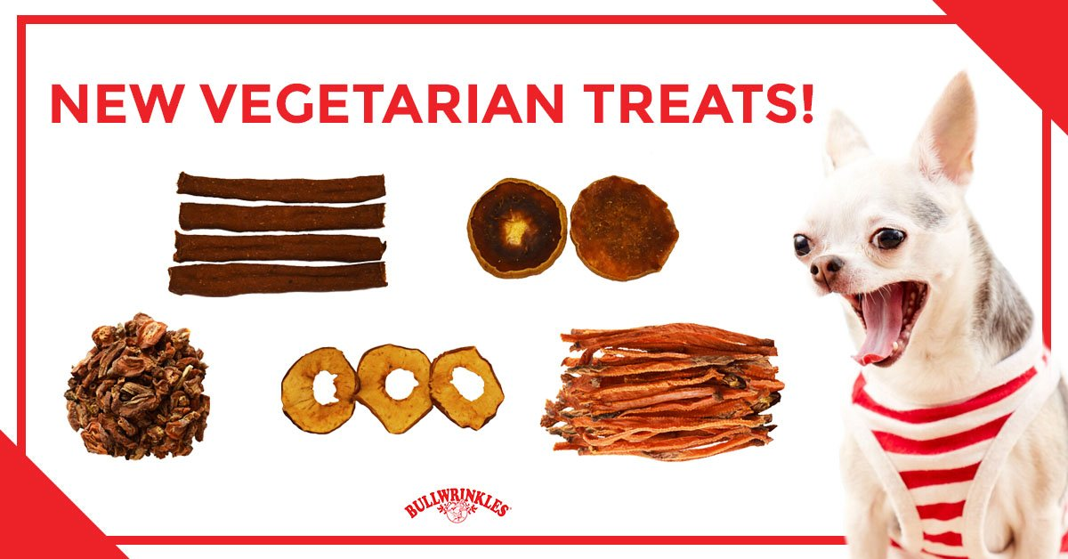 Banner for vegan dog treats