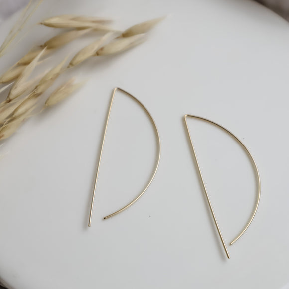 plaid + pom dress gloves