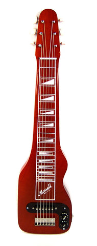 Joe Morrell Plus Series 6-String Lap Steel Guitar Transparent Red Finish