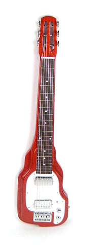 Joe Morrell Custom Series 6 String Lap Steel Guitar Metallic Rust