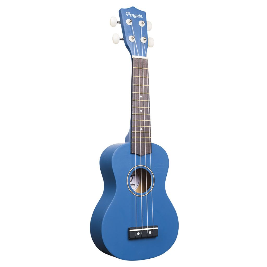 Amahi PGUKDB Soprano Penguin Ukulele with Gig Bag - Dark Blue