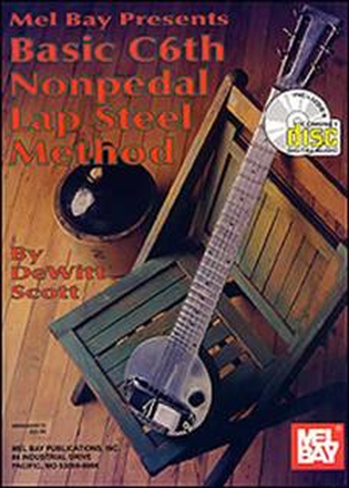 Mel Bay Basic C6th Nonpedal Lap Steel Method