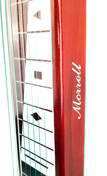 Joe Morrell Pro Series 8-String Lap Steel Guitar Transparent Red