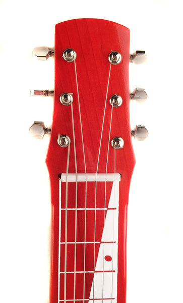 Joe Morrell Pro Series 6-String Lap Steel Guitar Transparent Red