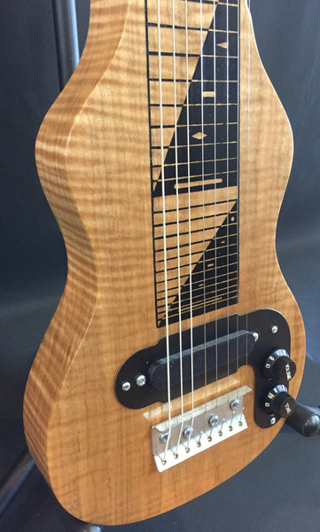 Morrell PRO Series Lap Steel Guitar 8-String Maple Body Natural Finish