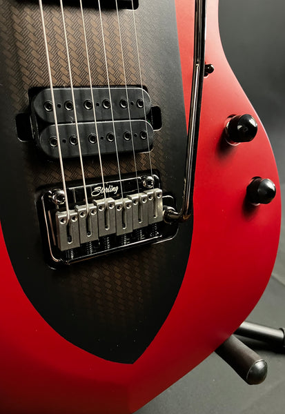 Squier Contemporary Stratocaster HH Electric Guitar Dark Red Metallic