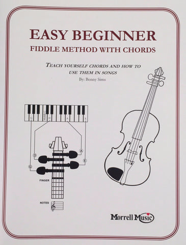 Easy Beginner Fiddle Method Instruction Book: Beginner's Guide to Violin