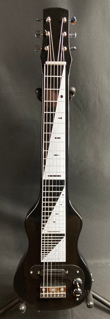 Morrell PRO Series 6-String Lap Steel Guitar Gloss Black Finish