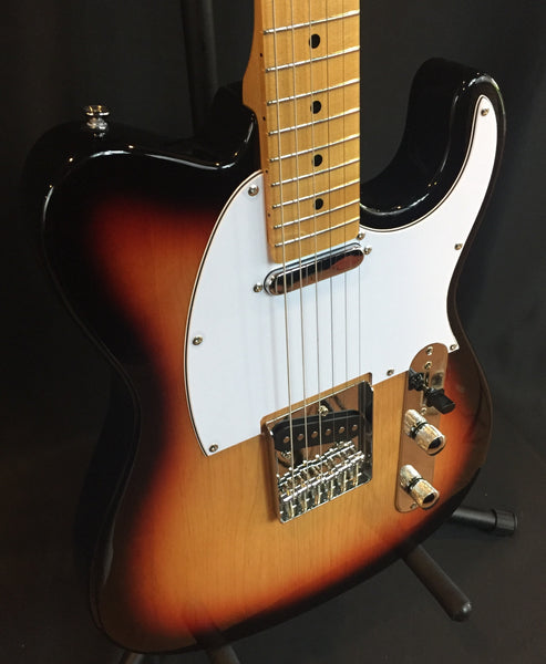 Tagima TW-55 Tele-Style Electric Guitar 3-Color Sunburst
