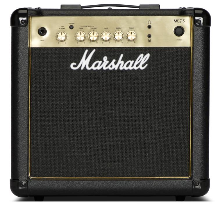 Marshall MG15G Electric Guitar Amplifier Combo 1x8 15 Watts