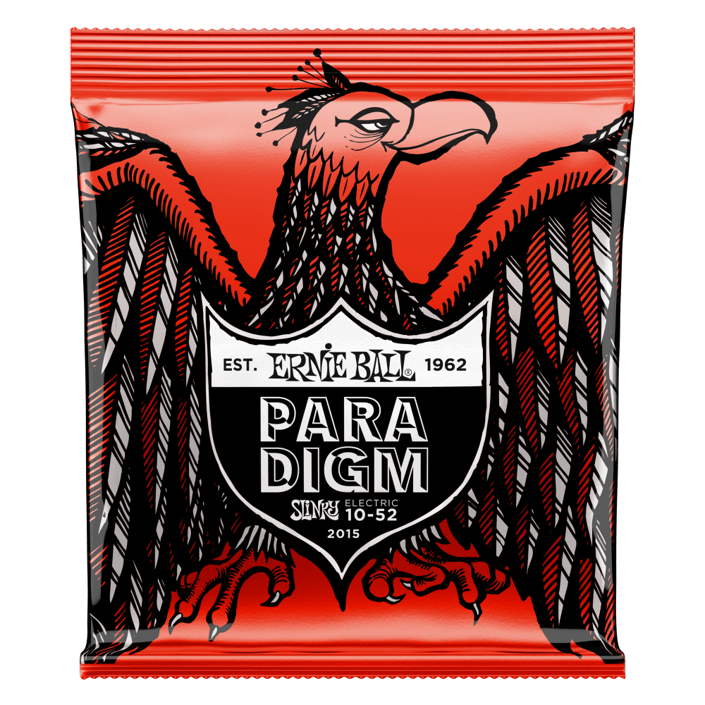 Ernie Ball 2015 Skinny Top-Heavy Bottom Paradigm Electric Guitar Strings 10-52