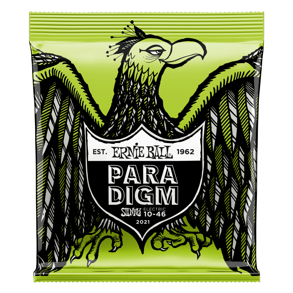 Ernie Ball 2021 Regular Slinky Paradigm Electric Guitar Strings 10-46