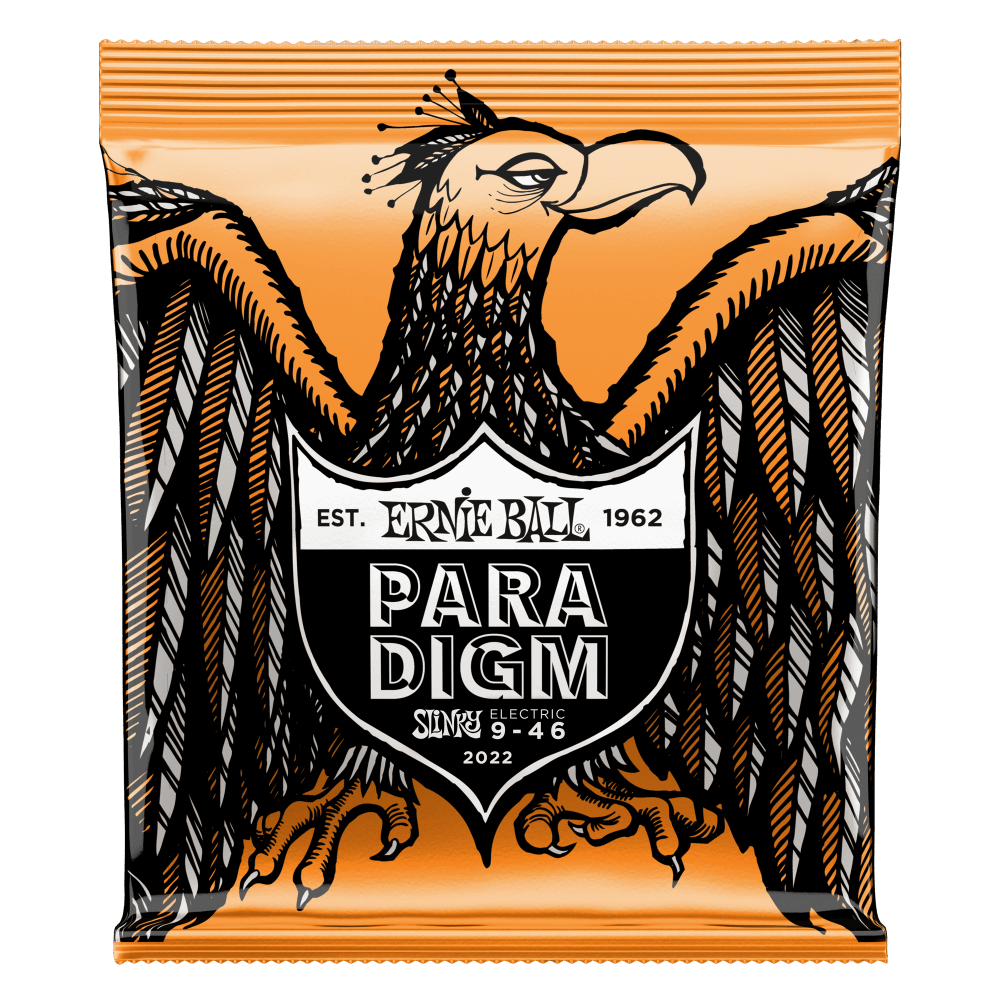 Ernie Ball 2022 Hybrid Slinky Paradigm Electric Guitar Strings 9-46