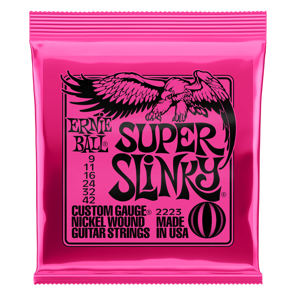 Ernie Ball 2223 Super Slinky Nickel Electric guitar Strings 9-42