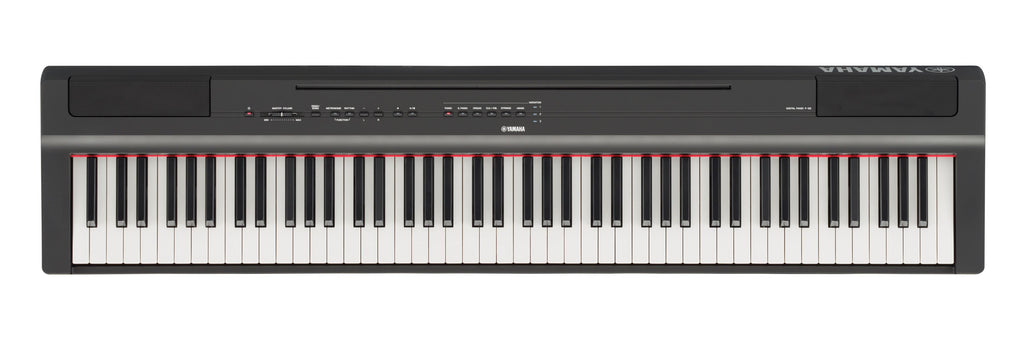 Yamaha P125B 88-Key Digital Piano w/ GHS Weighted Action and Footswitch